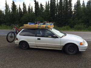 1990 Honda Civic Hatchback