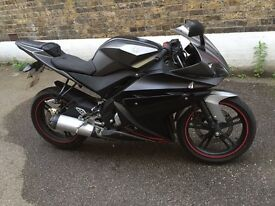 Yamaha r125 very clean LOW miles 3546