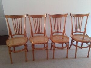 VINTAGE CANADIANA CHAIRS - SET of 4