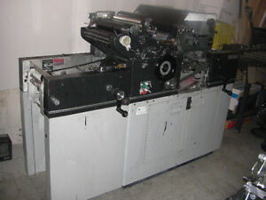 """MultiMax Offset Press with 2nd Colour Head 11"""" x 18"""" Kitchener / Waterloo Kitchener Area image 1"""