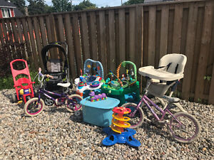 Whole lot of assorted baby and kids outsid items