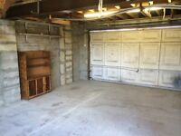 Secure storage space in double garage near junction 17 M4