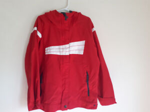 Columbia Light Red Jacket Size 7/8