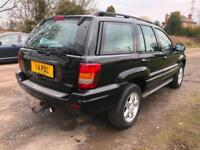 2004 54 JEEP GRAND CHEROKEE 2.7 CRD AUTO OVERLAND FULL HISTORY 12 STAMPS PX SWAP