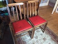2 Antique Chairs - need some restoration