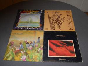 Lot de 4 vinyles Harmonium et Raoul Duguay