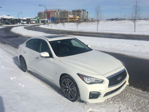 2014 Infinti Q50S AWD fully loaded Touring and Technology