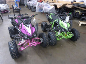 KIDS ATVS, DIRTBIKES, APOLLO, ODES CRT, TAO TAO, LAWAY FOR XMAS