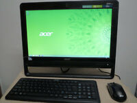 "19.5"" Acer All-in-One Computer Desktop Dual Core 8GB 1TB PC"
