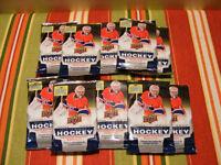 Lot de 10 pacquets scellées de cartes de hockey Upper Deck 2013-