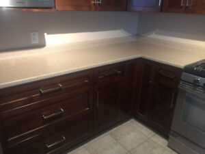 Laminate Counter, Sinks, Faucets