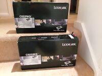 1 or 2 Lexmark C5222KS Black toner cartridges (normally £150 each on Amazon)