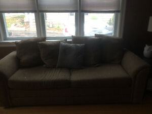 Brown/neutral couch