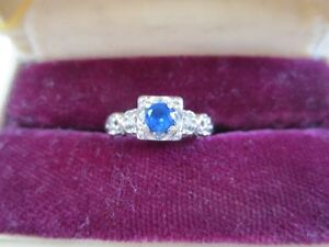 For Sale:  Vintage Sapphire Ring