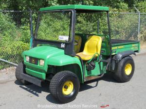 John Deere Gator Turf ATV Utility Vehicle Cart Gas UTV Electric Dump Bed bidadoo
