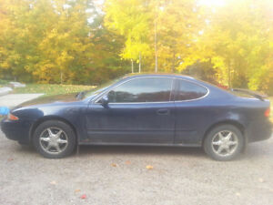 2000 Oldsmobile Alero Coupe (2 door) V6, $900 as is