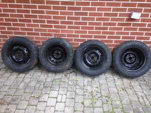 4 Winter tires on rims used only one season