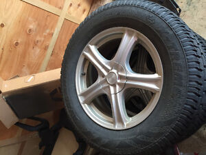 Ford Edge Winter Wheels and Tires