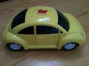 Brand new battery operated yellow beetle toy car