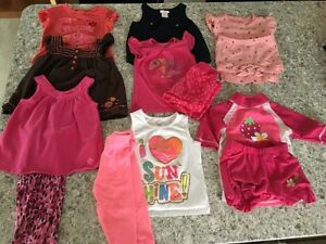Lot of 2T girls clothes