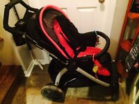 Peg Perego matching stroller and car seat