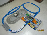 Tomica Hypercity Electric Station Set - Train and Car Playset.