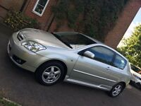 06/06 Toyota Corolla 1.4 Colour Collection, 3DR 41000Miles, NEW MOT!