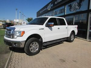 2010 Ford F-150 Lariat Crew Cab Truck LOW KMS
