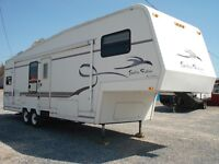 Caravan à Selette (fifth wheel) GoLDEN FALCON 29Rg Tours Edition