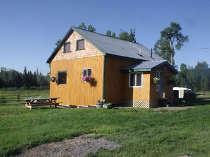 Amazing little ranch in the Cariboo on 60 acres