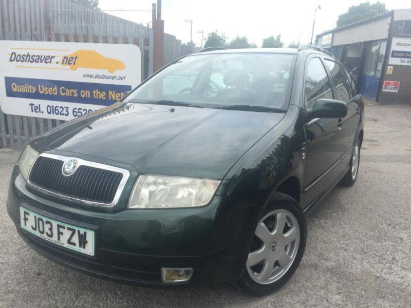 2003 skoda fabia 1 4 16v elegance 5dr in mansfield nottinghamshire gumtree. Black Bedroom Furniture Sets. Home Design Ideas