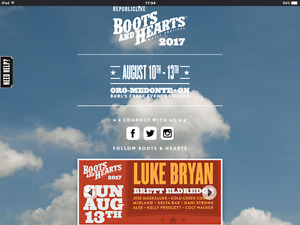 Boot and Hearts 2017 Country Music Festival