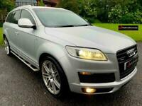 2007 07 Audi Q7 3.0 TDI Tiptronic quattro S Line Diesel 7 SEATS MASSIVE SPEC for sale  Swadlincote, Derbyshire