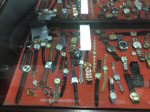 Huge Vintage Watch Collection - Rolex, Channel, Vintage Cameo