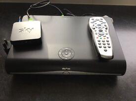 Sky+ HD recorder box plus remote