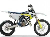 HUSQVARNA TC 85 2022 BIG WHEEL BRAND NEW MOTOCROSS BIKE