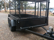 Dual Axle 9x6 caged Evanston South Gawler Area Preview