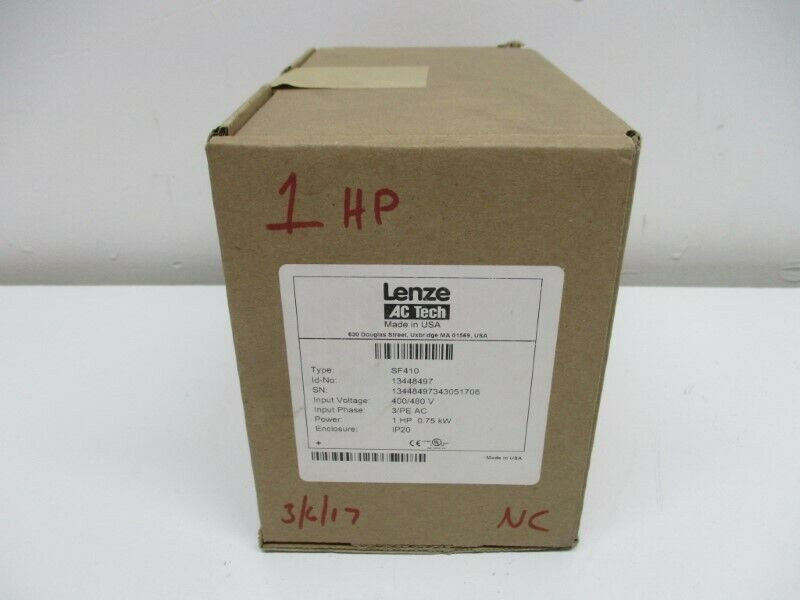 LENZE SF410 * FACTORY SEALED *