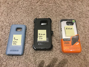 Galaxy s6 phone cases $15 to $20 all brand new