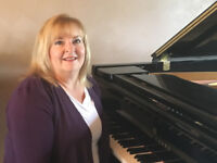 Piano and singing lessons in Red Deer!