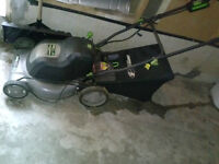 Earthwise Cordless mower for sale- still cuts, As Is