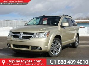 2010 Dodge Journey SXT   FWD, low km, air conditioning!