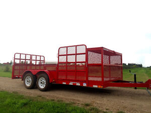 Landscape and Utility Trailer