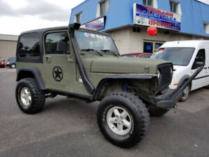 Jeep TJ 1999 Unique !!!