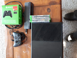 Xbox one with came and games