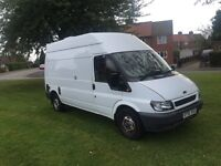 2006 ford transit, AUTOMATIC, camper conversion. 88k, history mot Feb, £2400