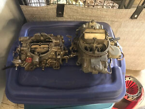 holley carburetter and factory Mopar carb