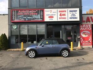 Mini Cooper Convertible Convertible-1.6L-JAMAIS ACCIDENTER 2005