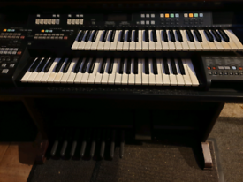 Technics double keyboard organ