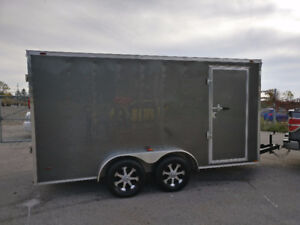 Used 14' enclosed trailer